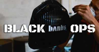 Banks Ram-Air Diff Cover Black Ops