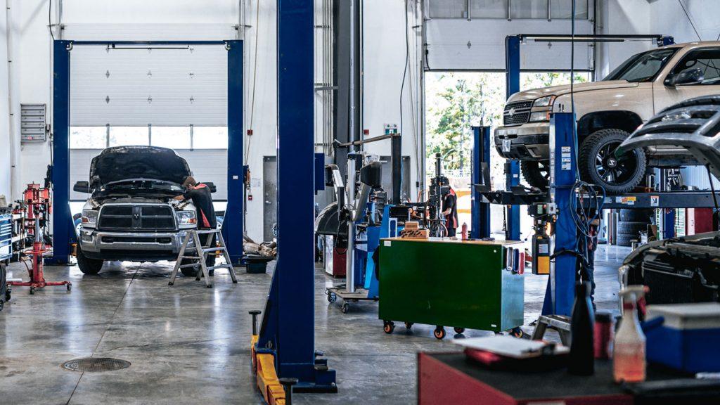 Dirty Diesel Customs, West Kelowna, Canada Interior