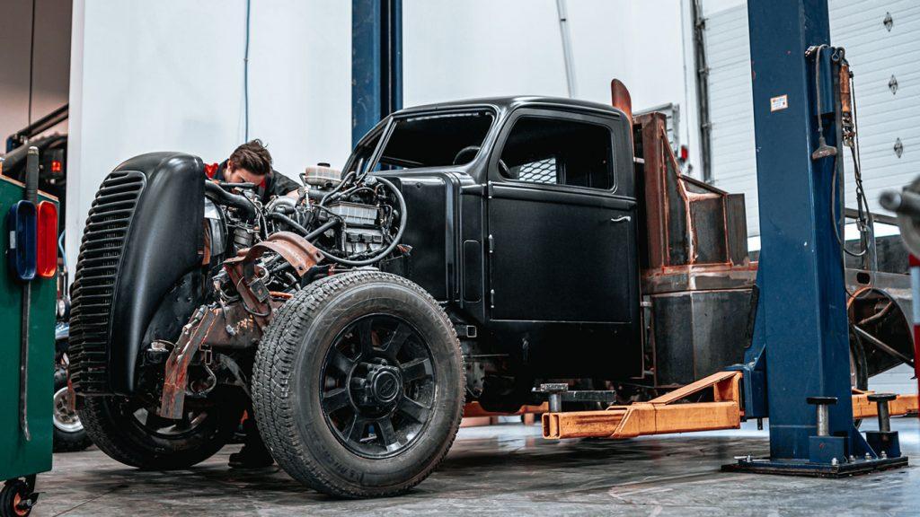 Dirty Diesel Customs, West Kelowna, Canada Hot Rod