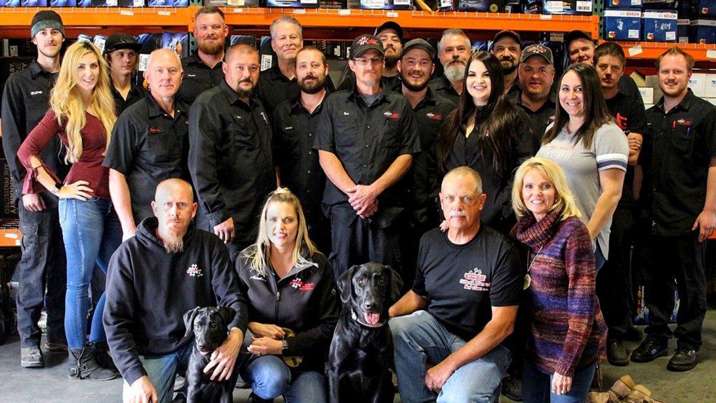 Gillett Diesel Service Employees