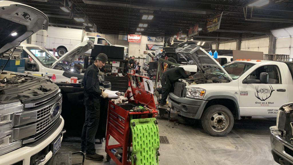 Gillett Diesel Service Shop