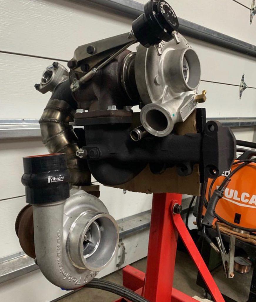 Jimmy Charon's '89 Cummins-Powered Blazer Turbocharger