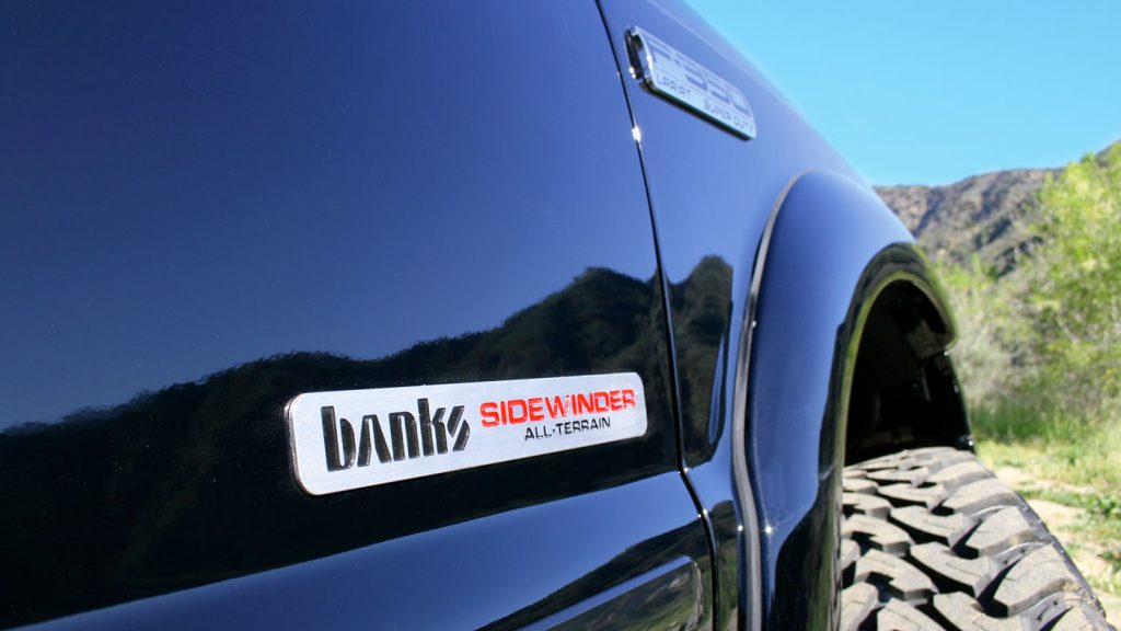 2005 Banks Sidewinder All Terrain Trucks Exterior Badge
