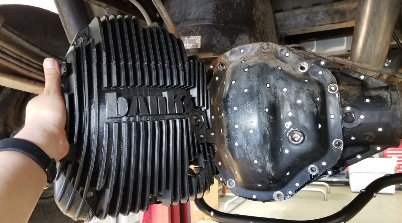 Dana 80 Banks Ram-Air Differential Cover