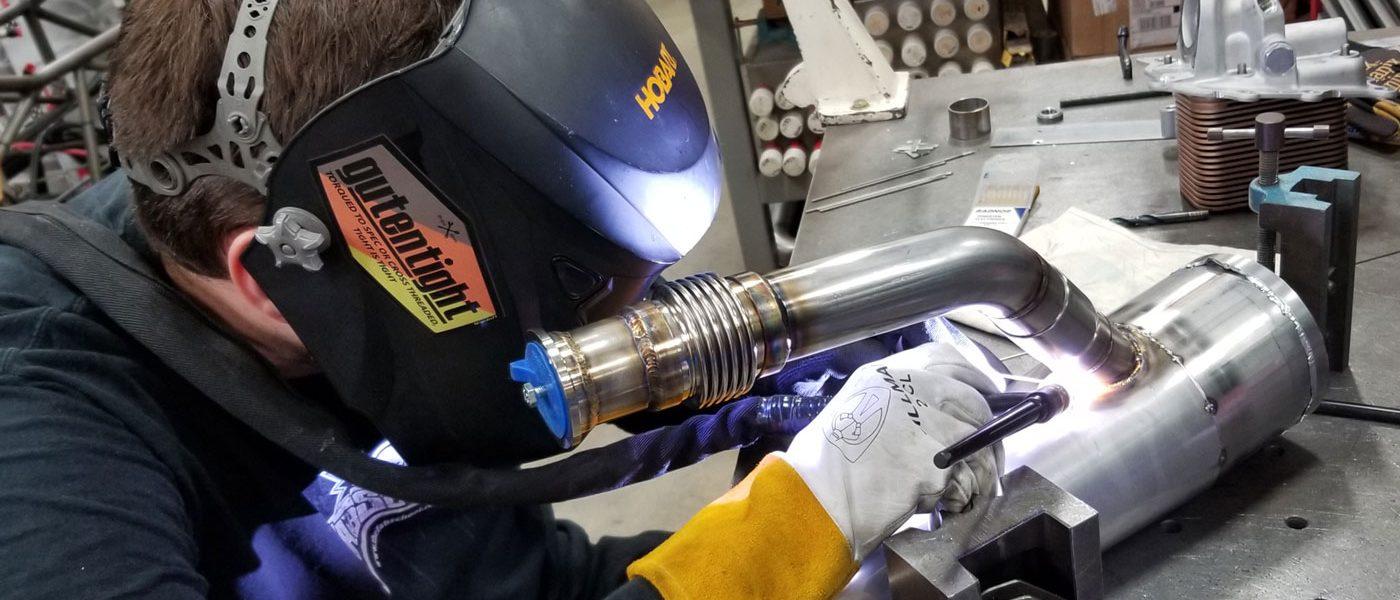 Supercharged Tin Turbo Duramax Welding