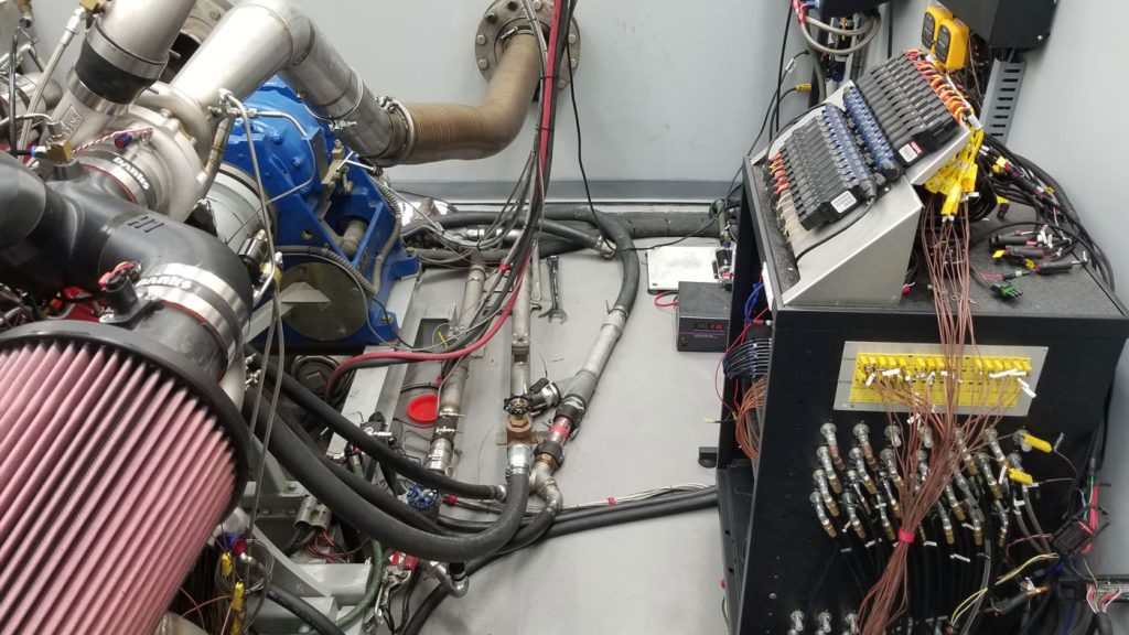 Supercharged Twin Turbo Duramax on Dyno