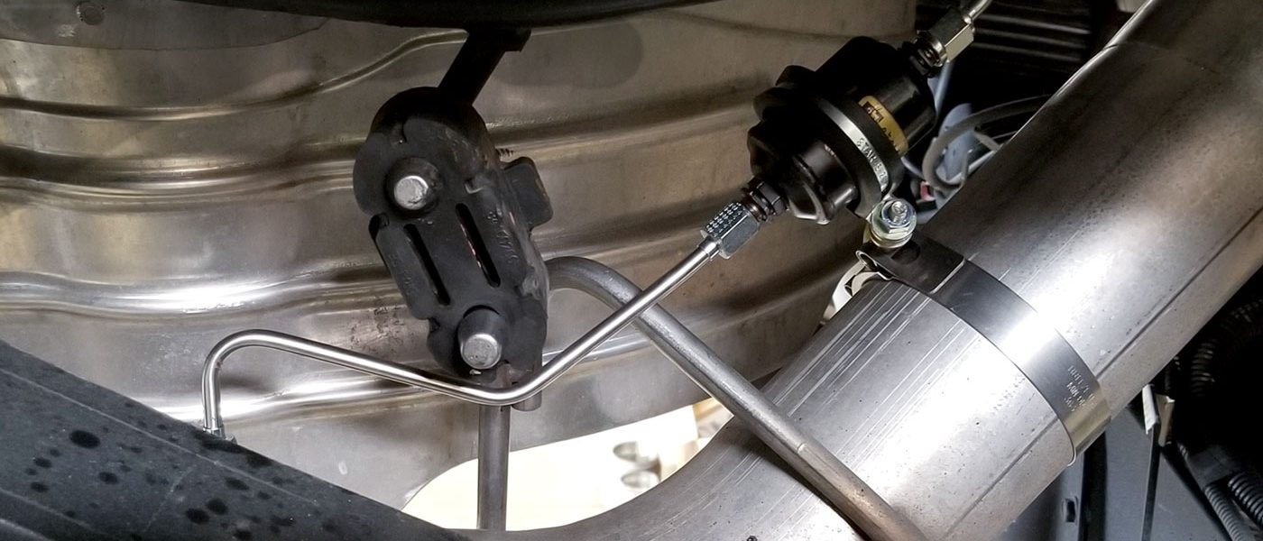 Exhaust Back Pressure Testing