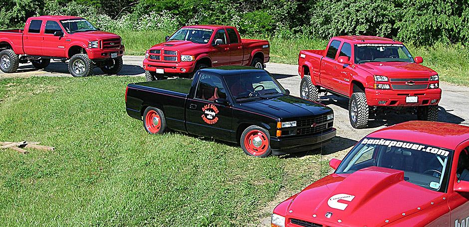 Banks Rat Rod Shop Truck on the Power Tour