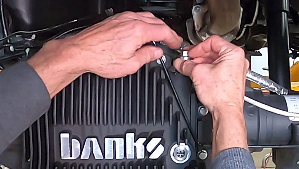 Dana M275 Diff Cover fill plug