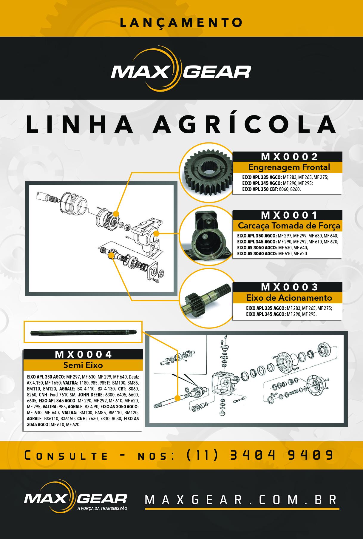 Lançamento Linha Agrícola
