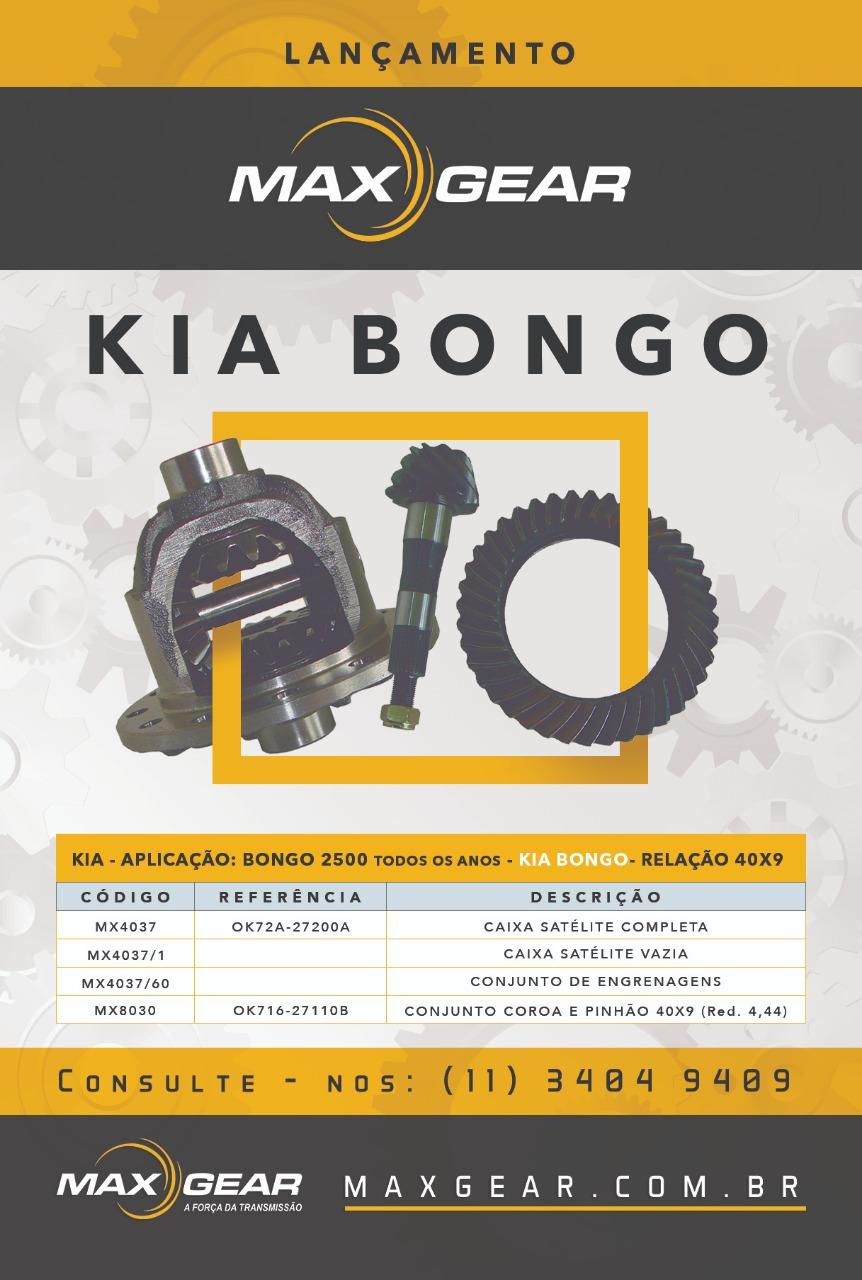 Lançamento Kia Bongo 2500 40x9