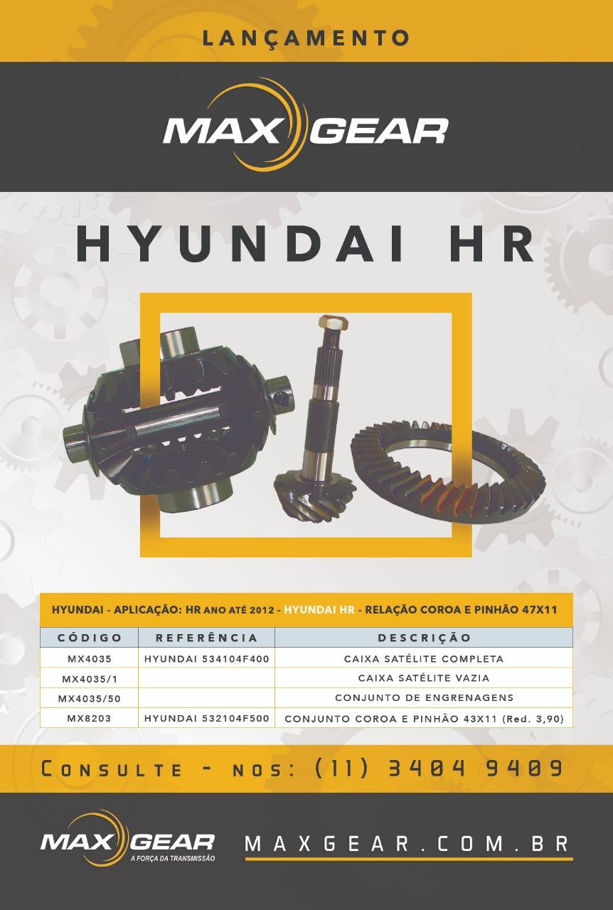 Lançamento Hyundai HR 47x11