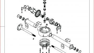 Eixo traseiro da Fusco Moto Segura