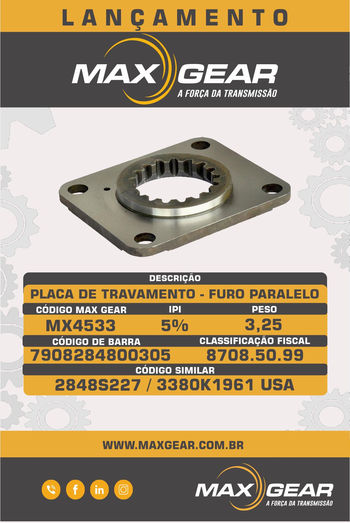 Lançamento MX4533