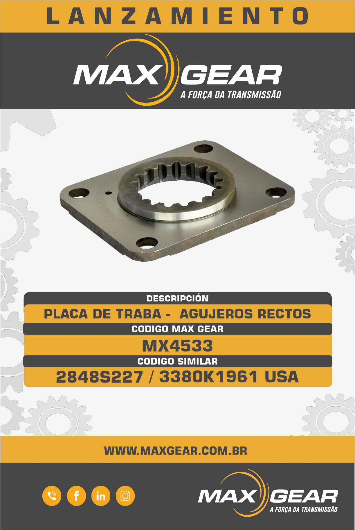 LANZAMIENTO MX4533