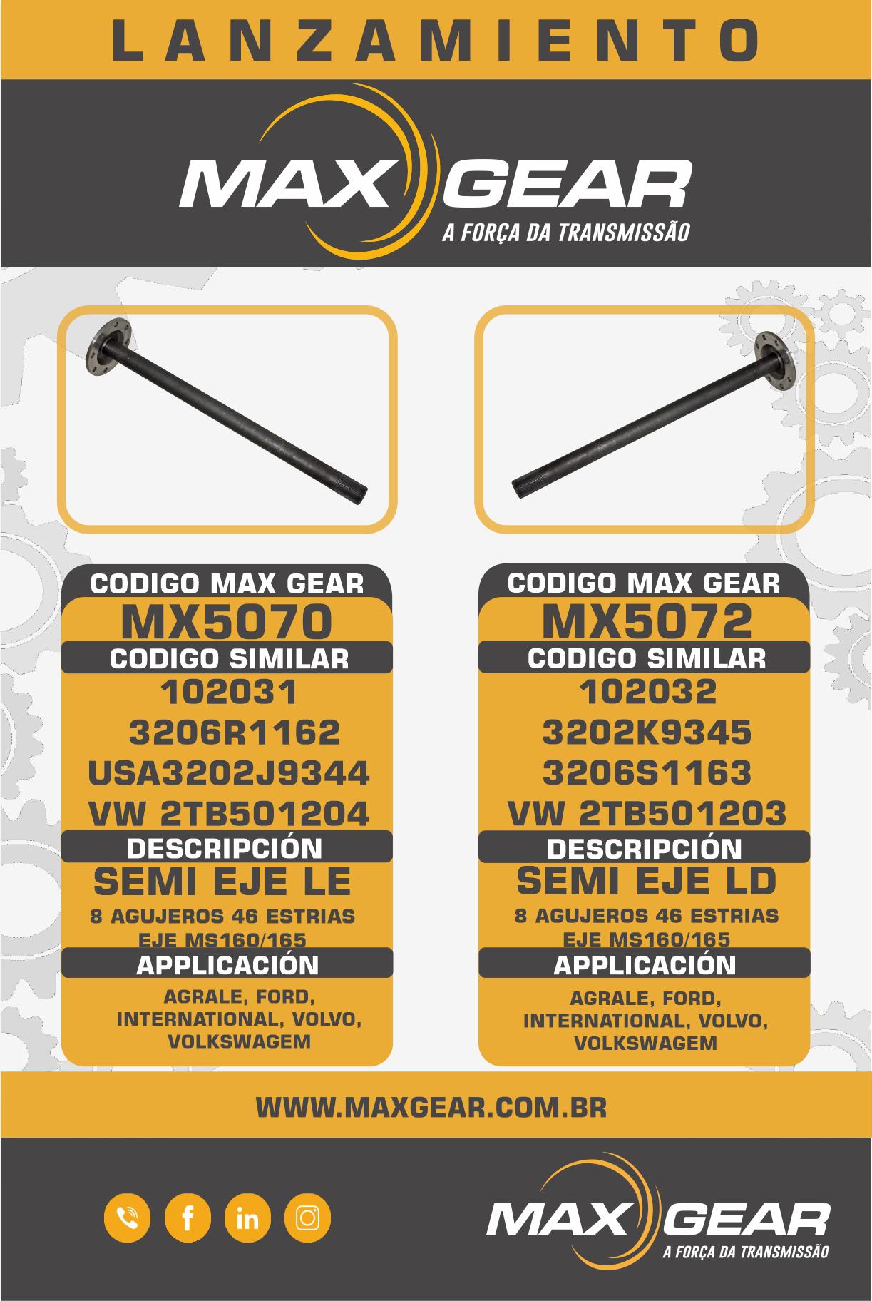 MX5070 & MX5072