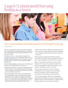 EdScoop report on desktop as a service for K-12