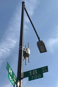 Just blocks from the White House, the district's transportation department installed new LED streetlights equipped with sensors and gigabit Wi-Fi hotspots. (StateScoop)