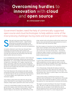 StateScoop report on cloud and open source innovation