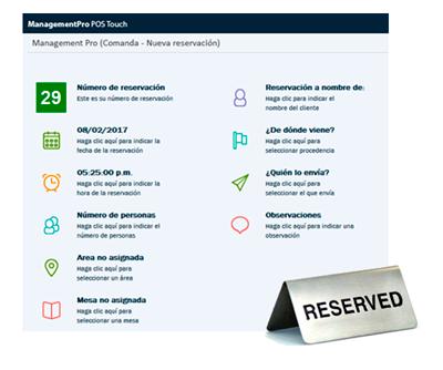 Módulo de Reservaciones del Software para Restaurantes