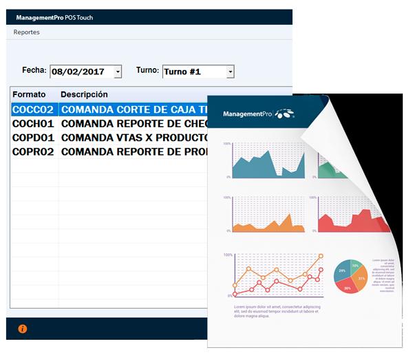 Reportes del Software Administrativo