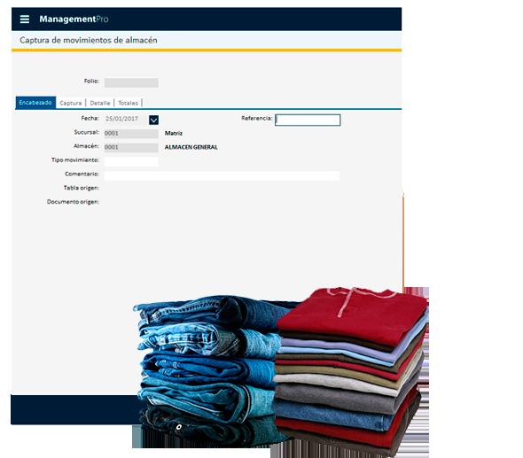 Inventarios del Sistema para Boutique