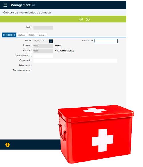 Módulo de Inventarios del Punto de Venta Farmacias