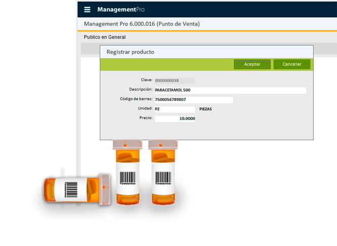 Impresión de Etiquetas desde el Punto de Venta Farmacias