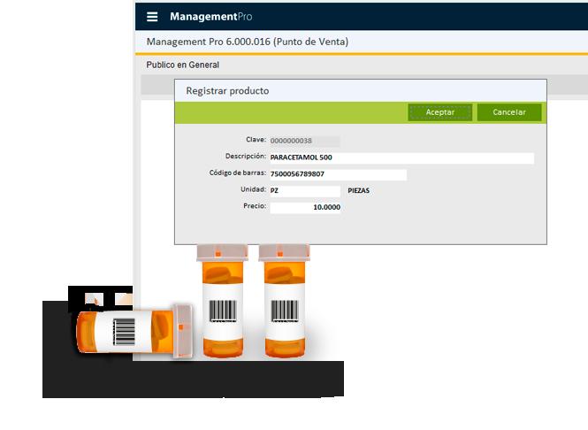 software para farmacias punto de venta etiquetas