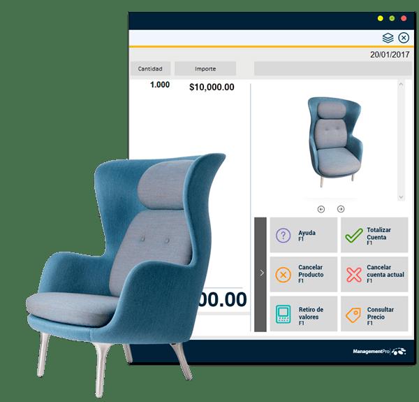 Encuentra tus muebles con Punto de Venta Mueblerías
