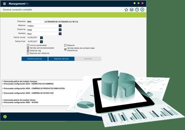 Sistema ERP Contabilidad