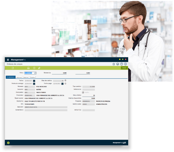 Software para Farmacias Compras