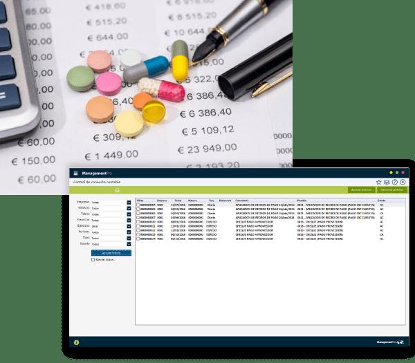 software para farmacias Contabilidad