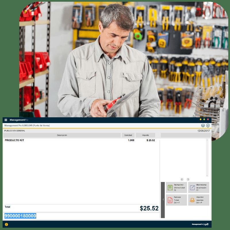Software para ferreteria monedero