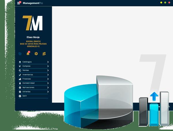 Sistema ERP ManagementPro Versión 7