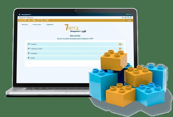 Configuración del Sistema ERP ManagementPro