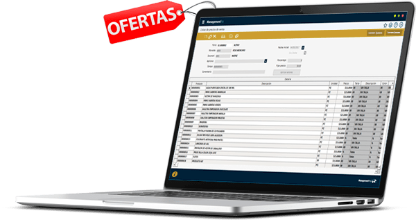 Sistema ERP Ventas