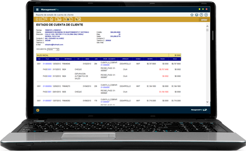 Sistema ERP Finanzas