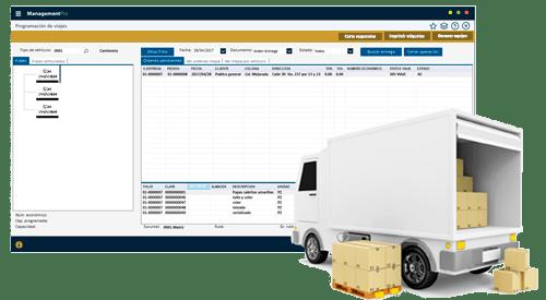 Módulo de Logística y Distribución del Sistema ERP ManagementPro