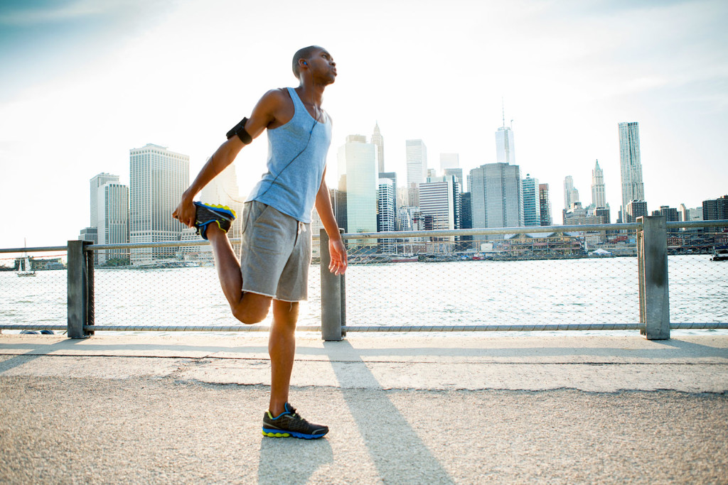runner stretches in NYC