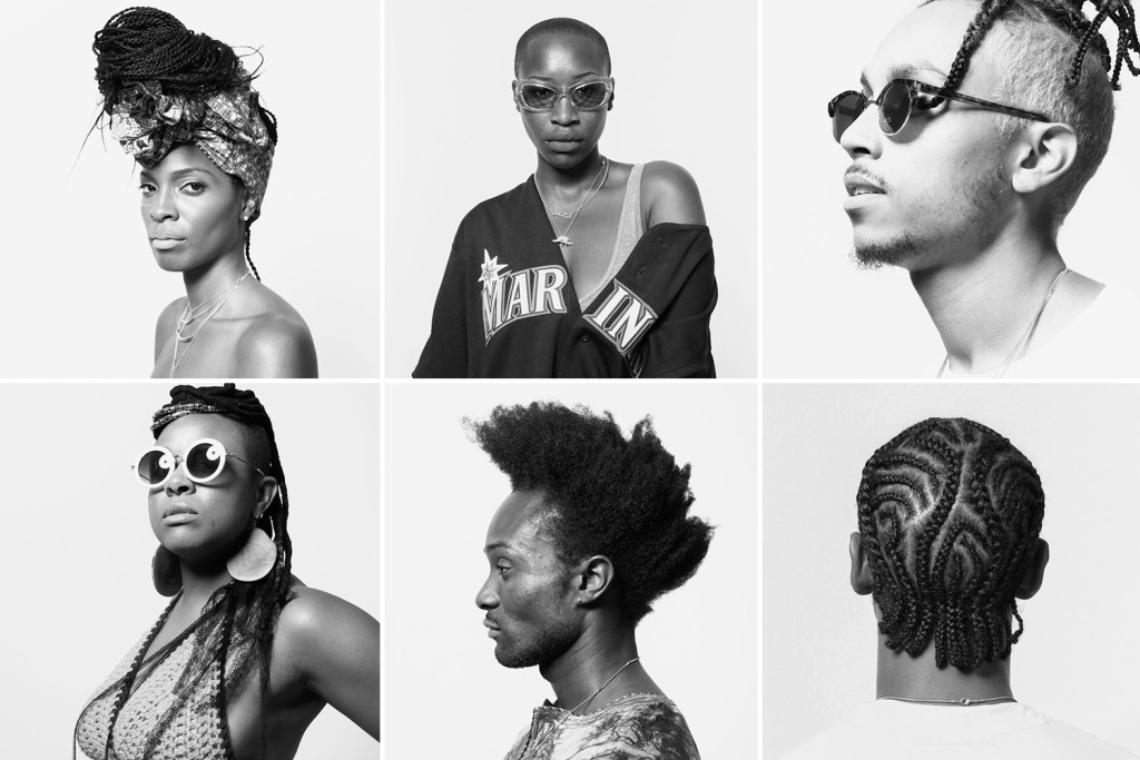 grid of portraits from the Afropunk Festival