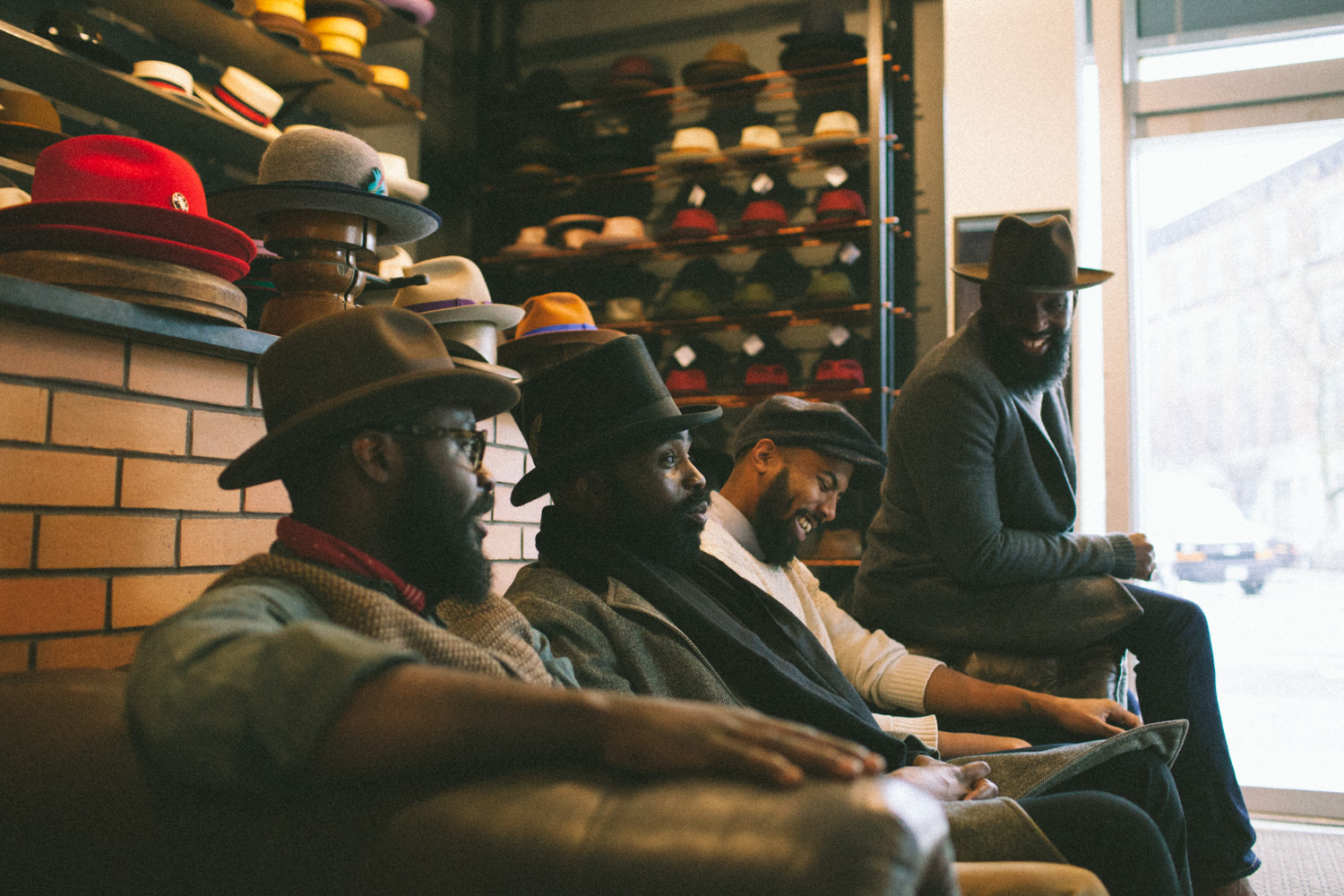 d3af629802c68 BC  It s apparent that your store is sells more than just hats. You ve  created a space where men of color can come hang out with their friends