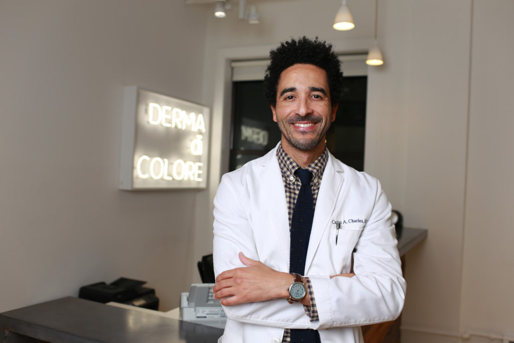 Dr. Charles at Derma di Colore