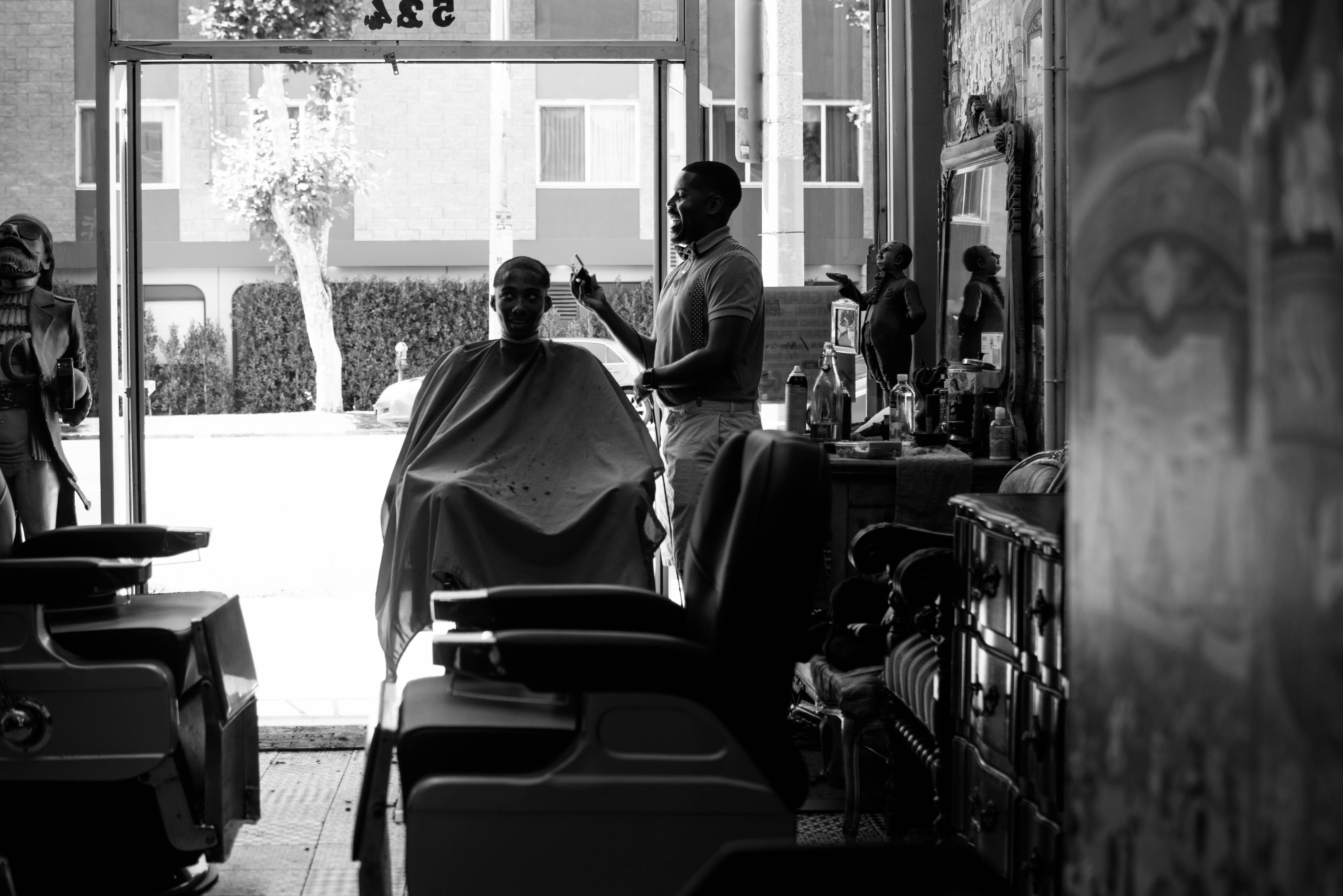 lined up evolution of the black barber shop bevel code. Black Bedroom Furniture Sets. Home Design Ideas