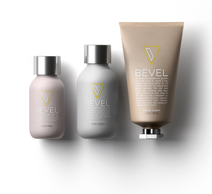 bevel shave system priming oil restoring balm shave cream