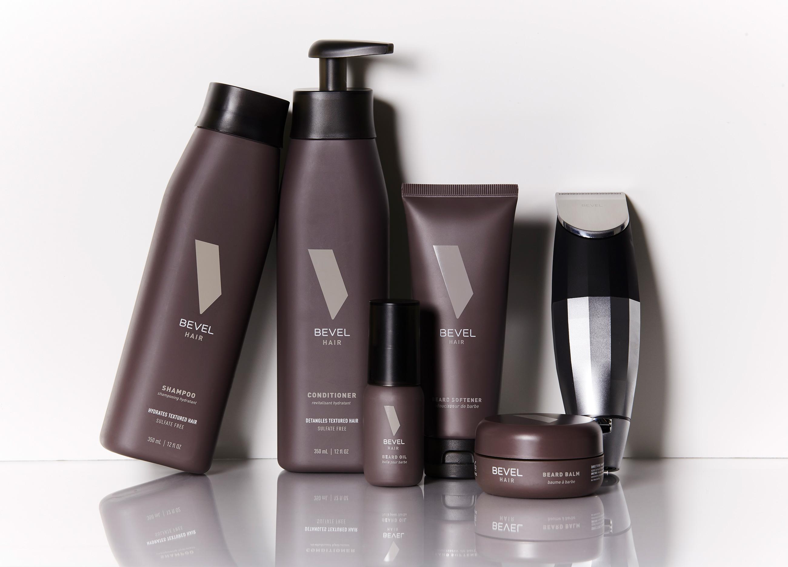 bevel hair beard balm softener oil trimmer pomade