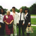 Believe this was taken at Tommy's wedding in 1989.