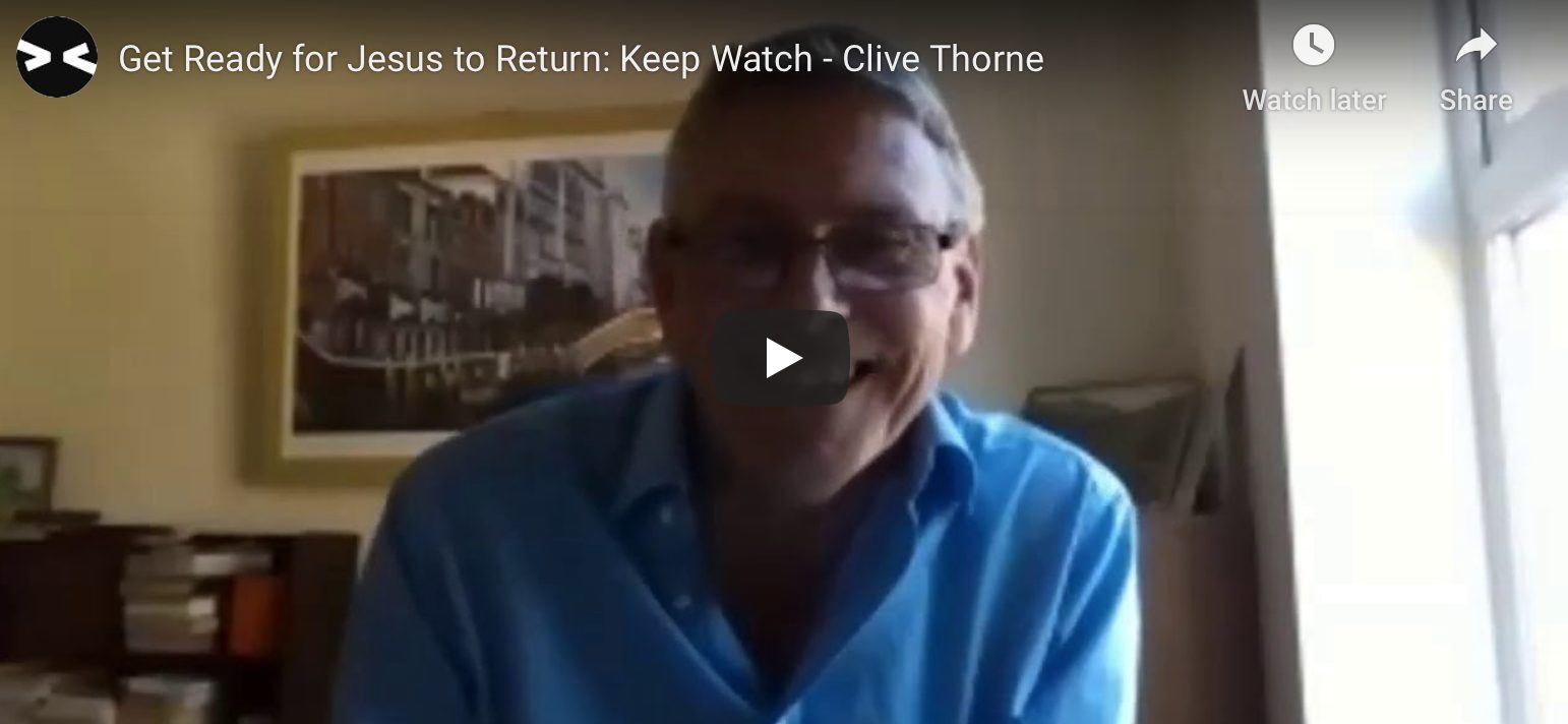 Get Ready for Jesus to Return: Keep Watch