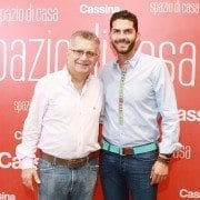 George and Jonathan Najjar; Founder of Spazio di Casa and Manager of the Santo Domingo Store