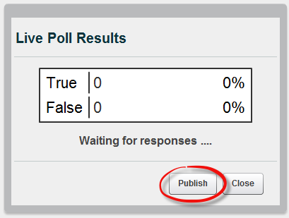 poll publish